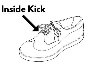 footbag inside kick