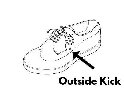 footbag outside kick
