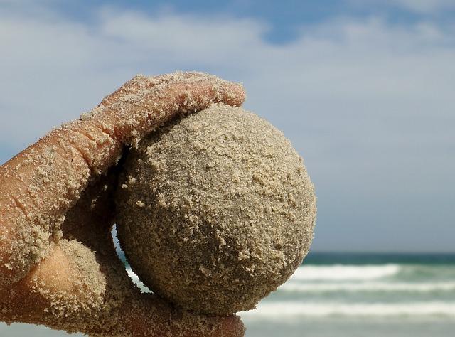 sand hacky sack